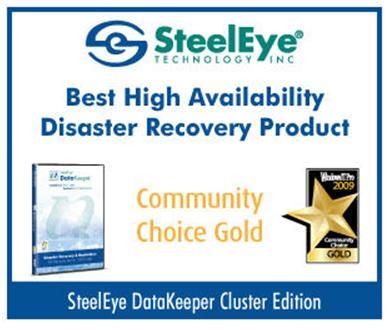 SteelEye DataKeeper Cluster Edition - Produk Pemulihan Bencana Tinggi Terbaik