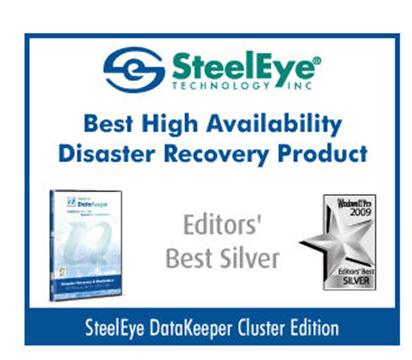 SteelEye DataKeeper Cluster Edition - Best High Availability Disaster Recover Product