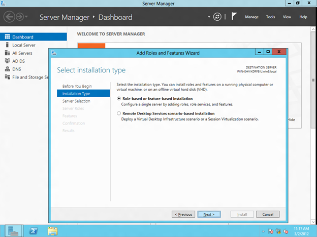 Step-by-Step: Configuring Windows Server 8 Beta iSCSI Target Software for Use in a Cluster (3/6)