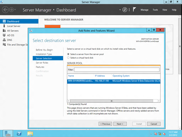 Step-by-Step: Configuring Windows Server 8 Beta iSCSI Target Software for Use in a Cluster (4/6)