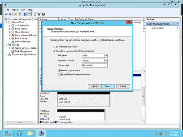 Configure Windows Server 8 Beta ISCSI Target Software For Use In A Cluster