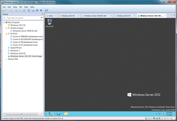 Installing Windows Server 2012 RC on VMware Workstation Step-by-Step (1/2)