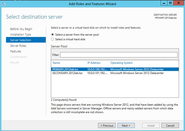 Windows Server 2012 Clustering Step-by-Step (3/6)