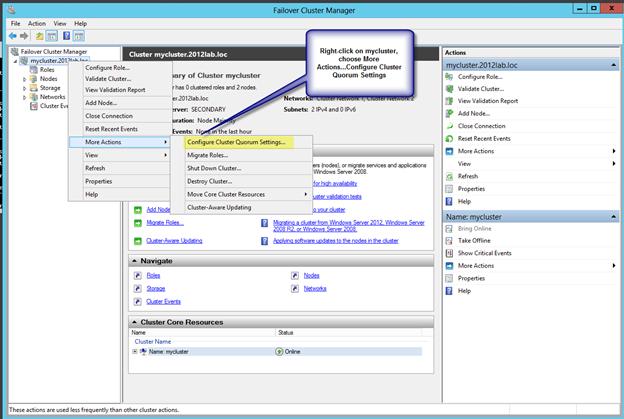 How to prepare clustering in Windows Server 2012? - Bayt com Specialties