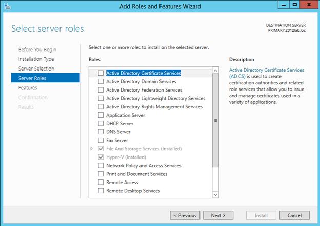 Windows Server 2012 Clustering Step-by-Step (4/6)