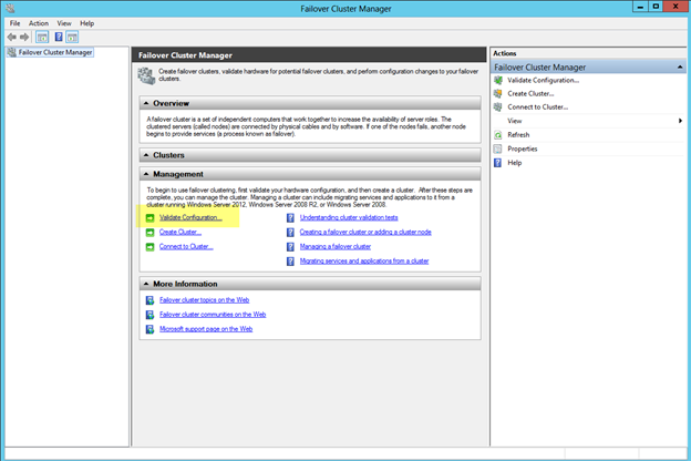 Windows Server 2012 Clustering Step-by-Step (6/6)