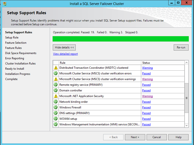 Clustering SQL Server 2012 On Windows Server 2012 with