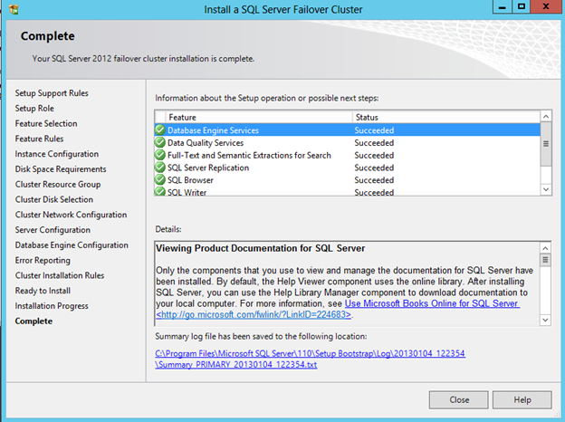 Clustering SQL server 2012 with DataKeeper