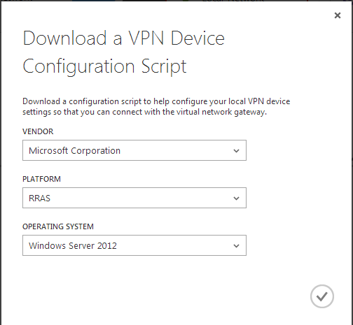How To Create A Site-To-Site VPN Tunnel To The Windows Azure Cloud Using A Window Server 2012 R2 Routing And Remote Access (RRAS) Server