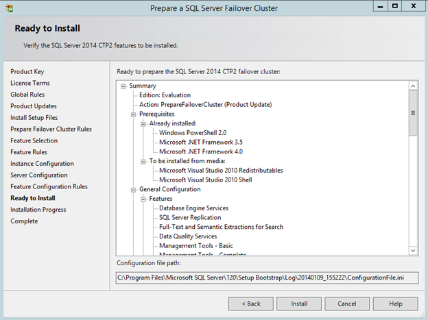 Creating A SQL Server 2014 Alwayson FCI In Windows Azure IAAS with DataKeeper