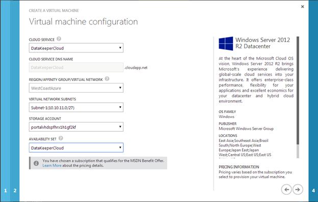 Windows Azure High Availability Options For SQL Server