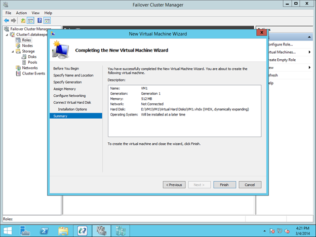 how to see who created vm scvmm