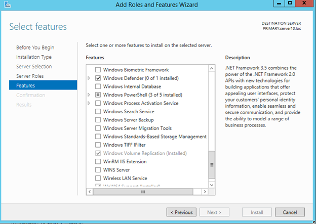 Windows Server 10 Storage Replica Configuration And First Impressions