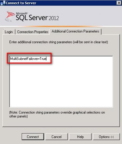 SQL Server Management Studio In A Multi-Site Cluster