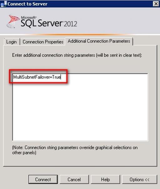 SQL Server Management Studio In A Multi-SiteCluster