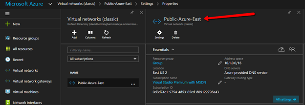 A Different Name On Azure Portal GUI
