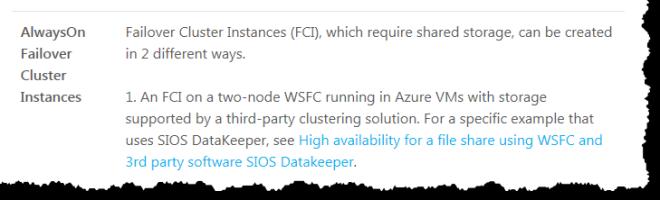 Deploy SQL Server Failover Clusters In Azure Resource Manager