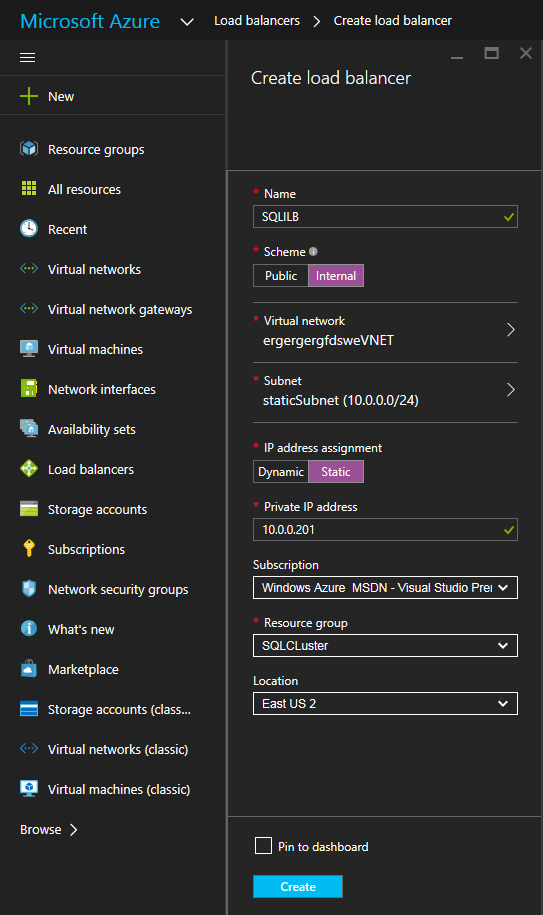 Deploy 2-Node File Server Failover Cluster in Azure