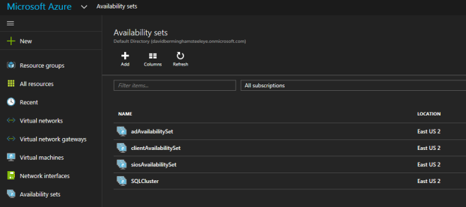 Change Availability Set Of Existing Azure VM