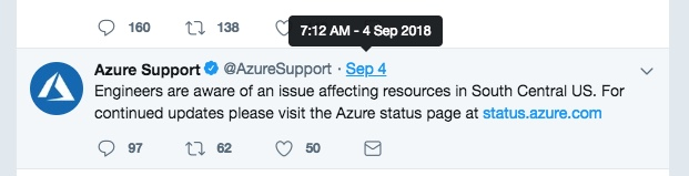 Azure Outage 2
