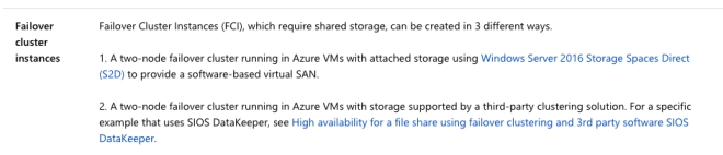 Move SQL Server 2008 And 2008 R2 Clusters To Azure For Extended Support