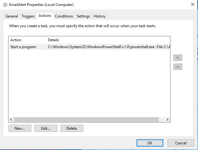 Step-by-Step: How to Trigger an Email Alert from Windows