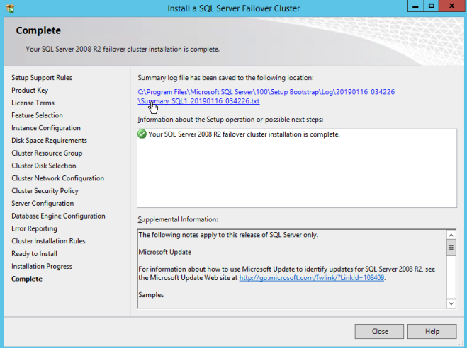 Step-by-Step: How to configure a SQL Server 2008 R2 Failover Cluster