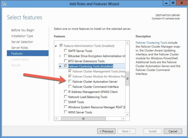 Step-by-Step: How to configure a SQL Server 2008 R2 Failover Cluster Instance in Azure