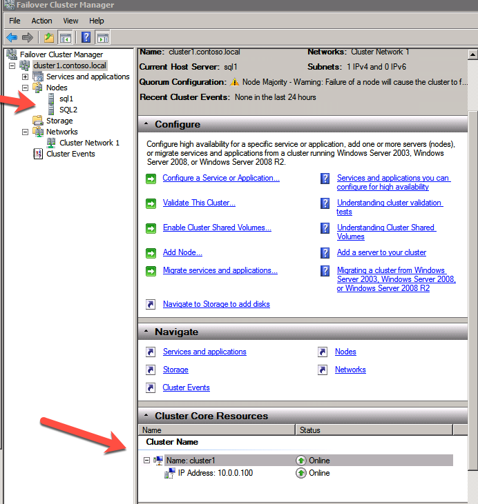 STEP-BY-STEP: HOW TO CONFIGURE A SQL SERVER 2008 R2 FAILOVER